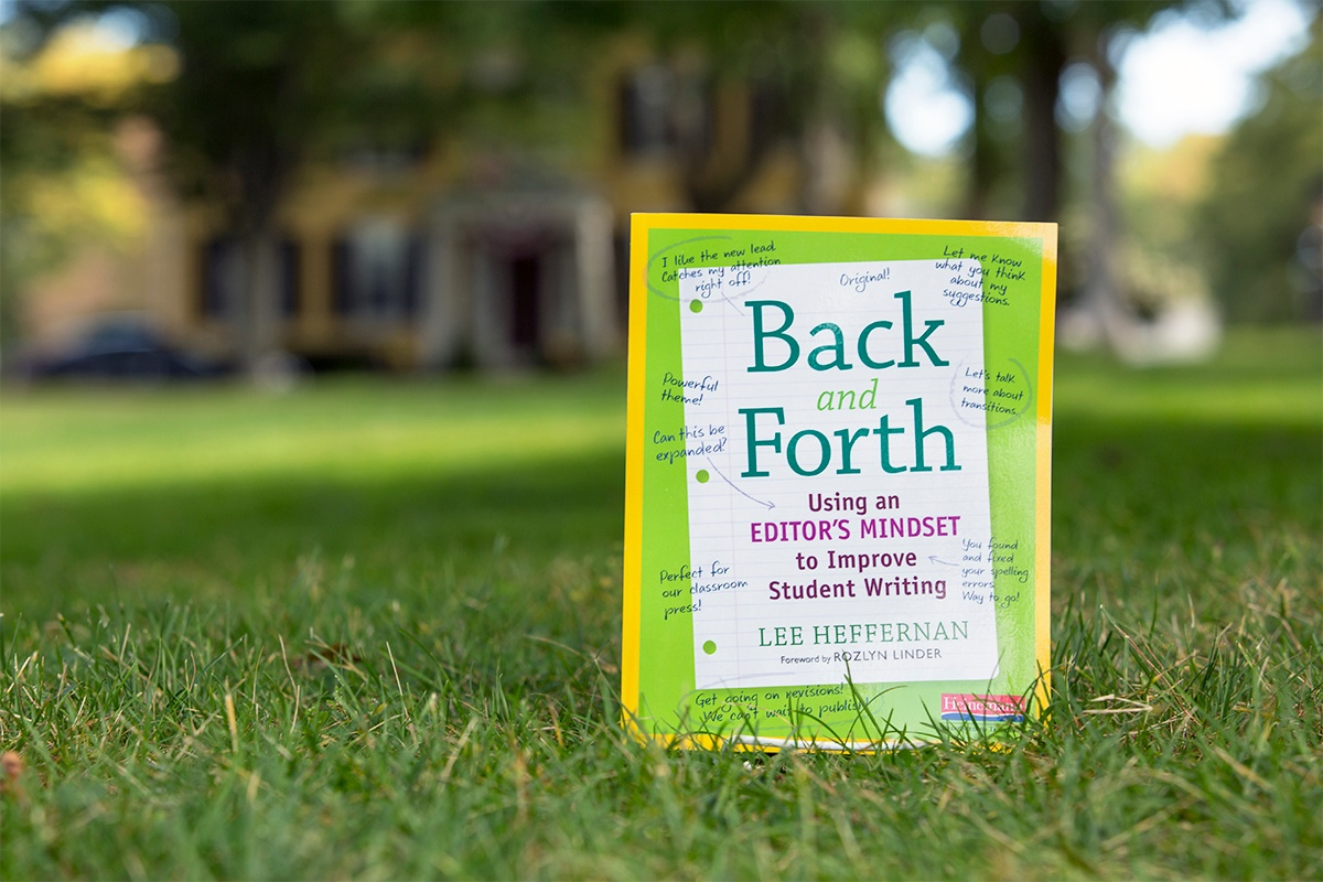 Back and Forth: Using an Editor's Mindset to improve Student Writing