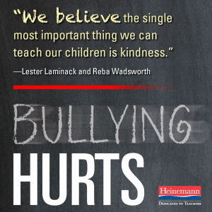 bullying hurts cover