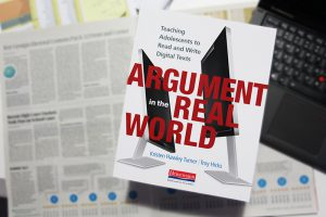 Argument in the real world book cover