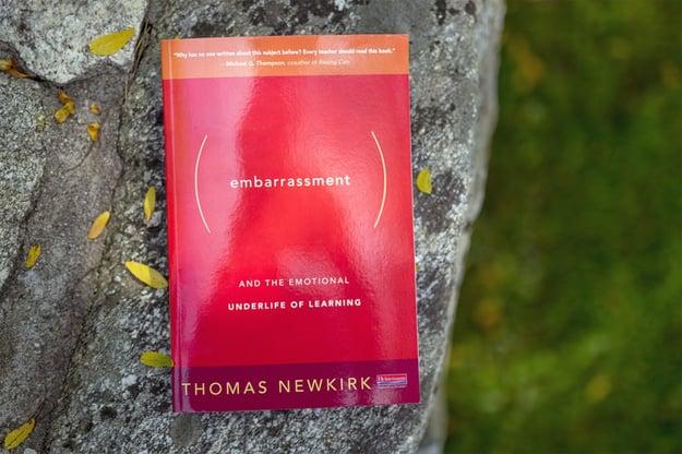 Tom Newkirk Embarrassment book cover