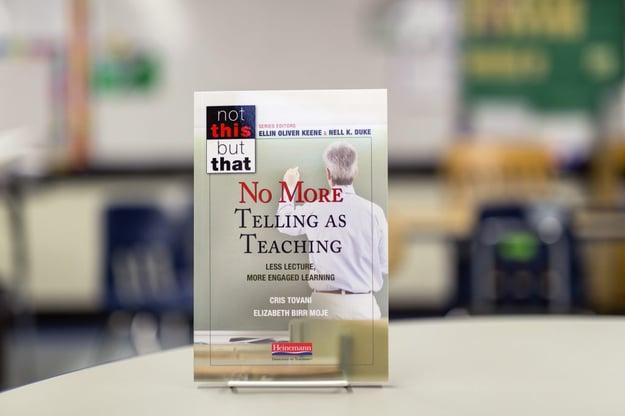 No More Telling as Teaching