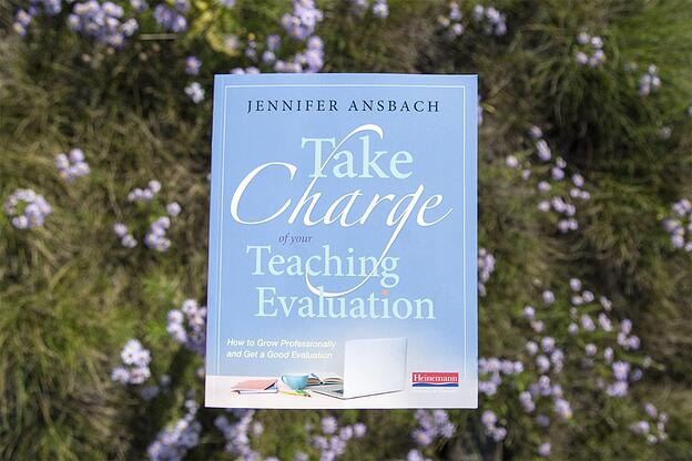 take charge of your teaching evaluation book cover jennifer ansbach