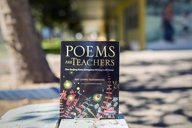 Poems Are Teachers book cover