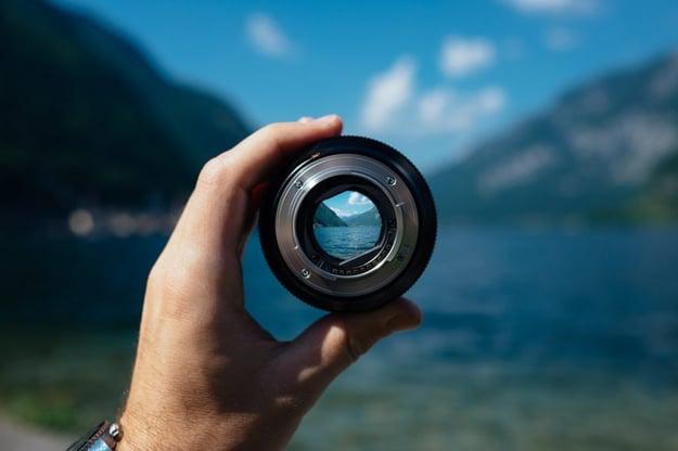 lens photograph
