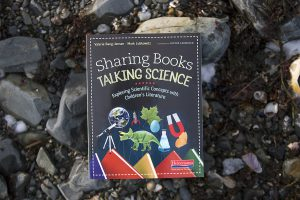 Sharing Books, Talking Science book cover