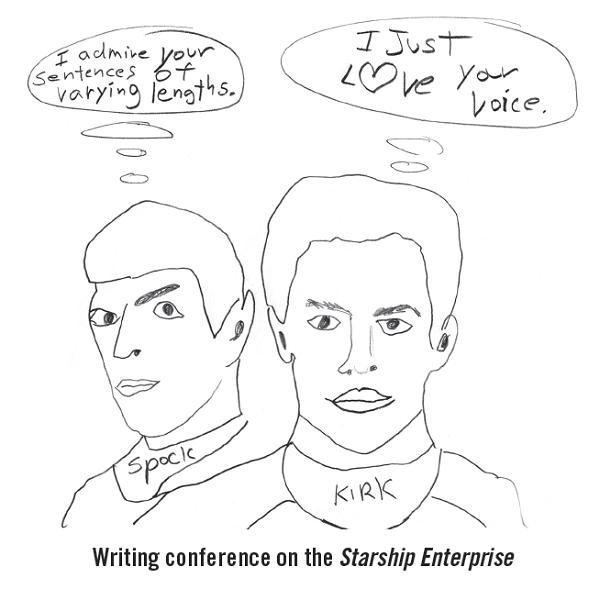 Barry Lane: More Kirk, Less Spock