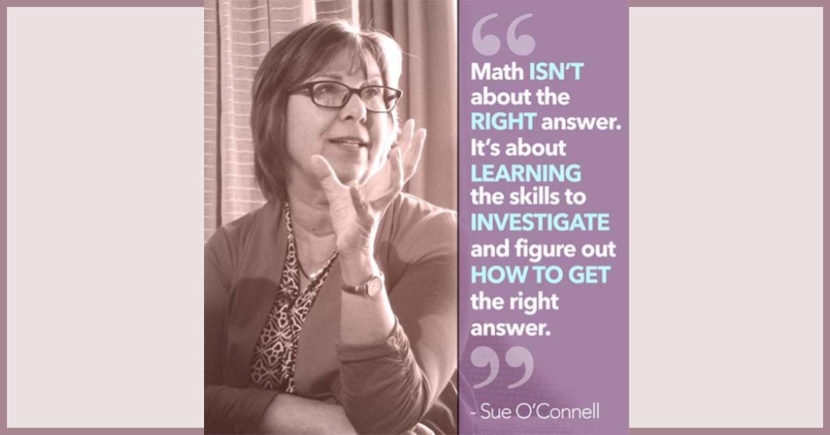 Sue O-Connell Math Podcast
