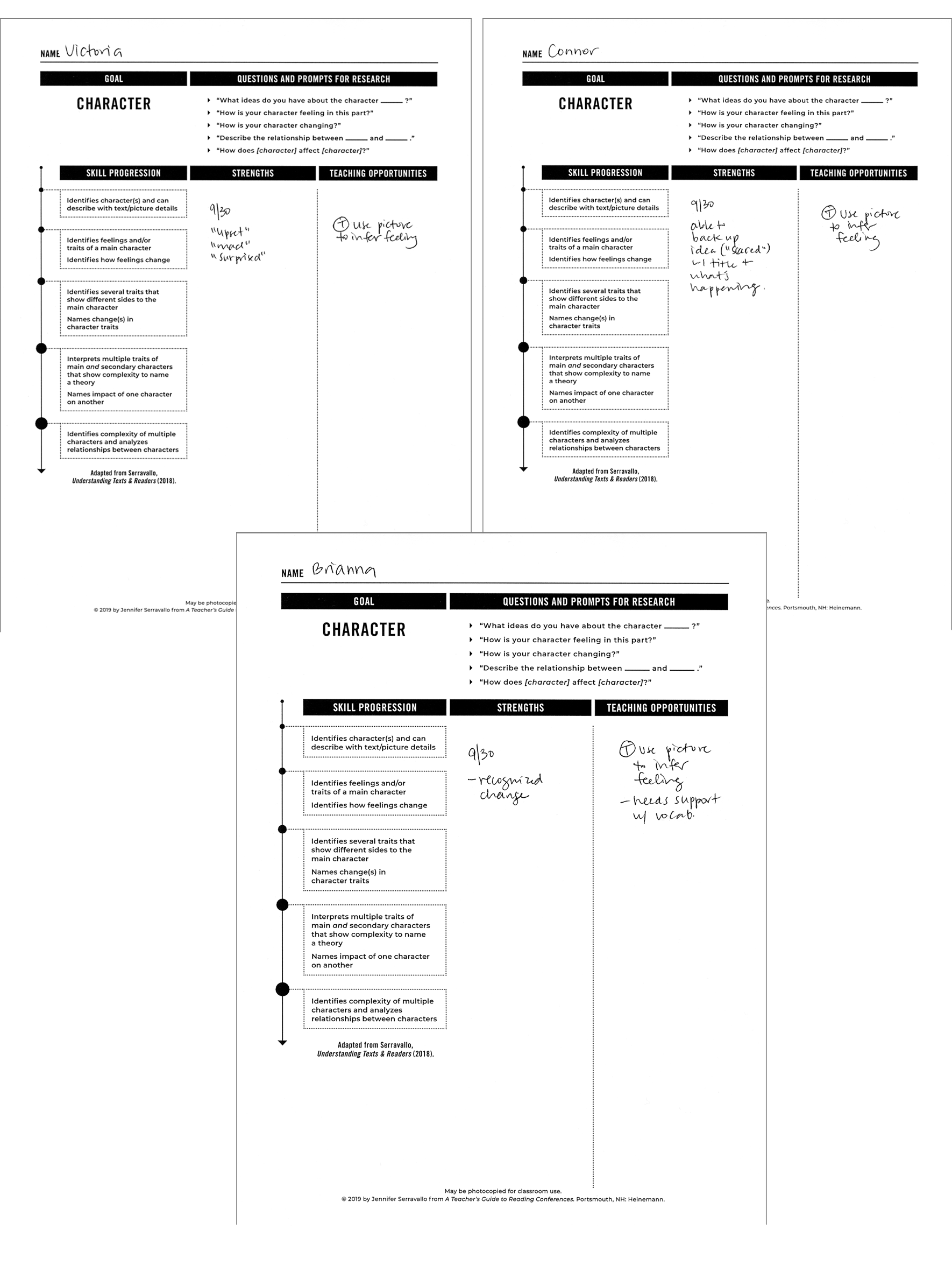 more conference sheets
